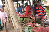 Igayaza 市场-远程乌干达西部 — 图库照片