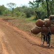 Heavy Load in Uganda, Africa — Stock Photo