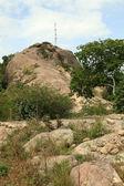 Abela roca, uganda, africa — Foto de Stock