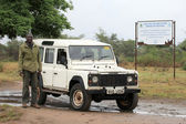 Sitio de conservación - lake opeta - uganda, áfrica — Foto de Stock