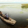 Lake Landscape - Lake Bisina - Uganda, Africa — Stock Photo