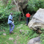 Nyero Rock Caves - Uganda, Africa — Stock Photo