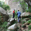 Nyero Rock Caves - Uganda, Africa - Stock Photo