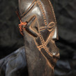 African Tribal Mask - Zande Tribe — Stock fotografie