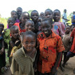 Foto Stock: Local Children - Uganda, Africa
