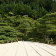 Sand Garden - Ginkakuji Temple, Kyoto, Japan — Stock Photo