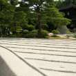 Sand Garden - Ginkakuji Temple, Kyoto, Japan — Stock Photo #12462553