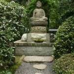 Buddha statue - Ryoan Ji, Kyoto, Japan — Stock Photo #12462826