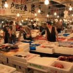 Tsukiji Fish Market, Tokyo, Japan — Stock Photo #12465704