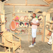 Stock Photo: Craft Shop in Uganda