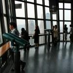 Inside Tokyo Tower, Tokyo, Japan — Stock Photo