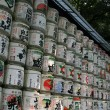 Lanterns - Meiji Shrine, Tokyo, Japan — Stock Photo