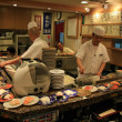 Chef - Sushi Restaurant, Traditional Japanese Food — Zdjęcie stockowe #12469512