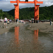 Miyajima Gate - Itsukushima Shrine, Miyajima, Japan — Stock Photo