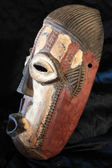African Tribal Mask - Bande Tribe — Stock Photo