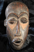 African Tribal Mask - Lega Tribe — Stock Photo