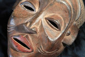African Tribal Mask - Chokwe Tribe — Stock Photo