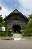 Kerk kapel, historische dorp van hokkaido, japan — Stockfoto