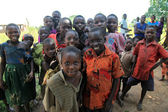 Lokalne dzieci - uganda, afryka — Zdjęcie stockowe