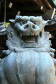 Lion Statue - Yasakunijinga Shrine, Sapporo, Japan — Stock Photo