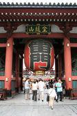 Lanterna japonesa - sensoji shrine, tóquio, japão — Foto Stock