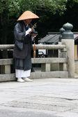 Holy Man - Todaiji Ancient Temple, Nara, Japan — Stock Photo