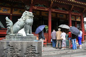 Beast Stone Statue - Sensoji Shrine,Tokyo, Japan — Stock Photo