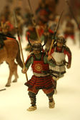 Soldier Model - Osaka Castle, Osaka, Historic Japan — Stock Photo