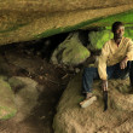 Busigo Cave - Remote Western Uganda — Stock Photo