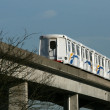 Stock Photo: Skytrain in Vancouver, BC, Canada