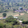 Stock Photo: School at Abela Rock, Uganda, Africa
