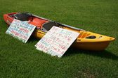 Kayak For Rent - Iriomote Jima Island, Okinawa, Japan — Stock Photo