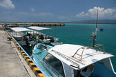 Speed Boat - Iriomote Jima Island, Okinawa, Japan — Stock Photo
