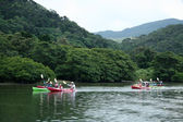 Kayaking - Urauchi River, Iriomote Island, Okinawa, Japan — Stock Photo