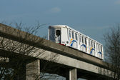 Skytrain in Vancouver, BC, Canada — Stock Photo