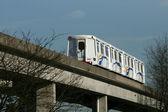 Skytrain w vancouver, bc, kanada — Zdjęcie stockowe