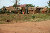 Mud Hut - Soroti, Uganda, Africa — Stock Photo