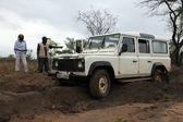Site de conservation - lac béatrice - ouganda, afrique — Photo