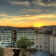 Sunset Over Vienna — Lizenzfreies Foto