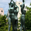 Memorial - Odori Park, Sapporo City, Japan - Stock fotografie