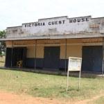 Hotel-Restaurant in Uganda, Africa — Stock Photo #12485339