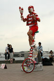 Street Performer - Yokohama City, Japan — Stock Photo