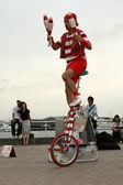 Street Performer - Yokohama City, Japan — Stock Photo