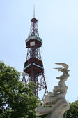 Sapporo TV Tower Building, Japan — Stock Photo