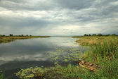 African River Setting - Agu River - Uganda, Africa — Stock Photo