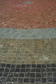 Golvplattor - odori park, staden sapporo, japan — Stockfoto
