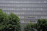 Office Building - Odori Park, Sapporo City, Japan — Stock Photo