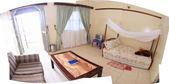 Luxury Hotel Room, Uganda, Africa — Stock Photo