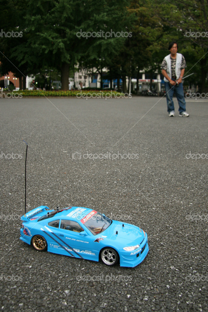 Remote Control Car - Yokohama, Japan — Stock Photo #12484450