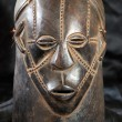 African Tribal Mask - Zande Tribe — Stock Photo